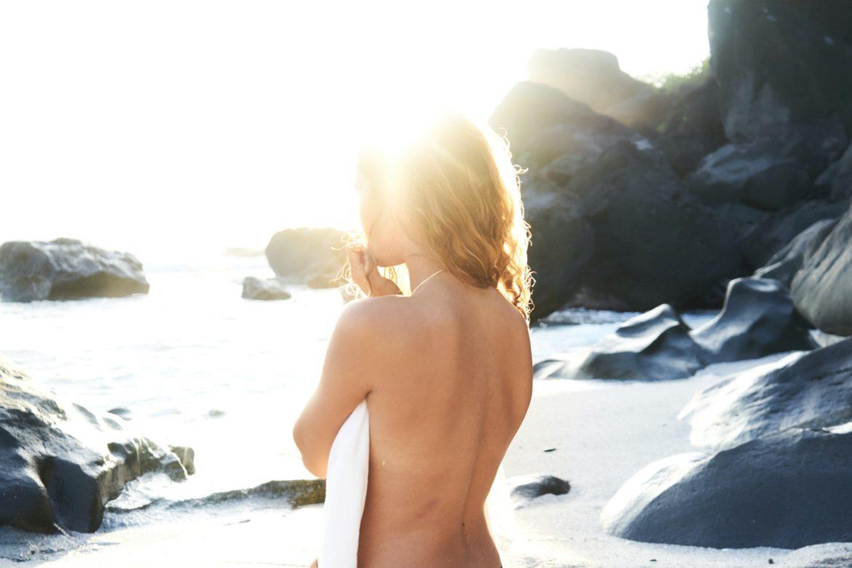Sonnen de nackt FKK Bilder